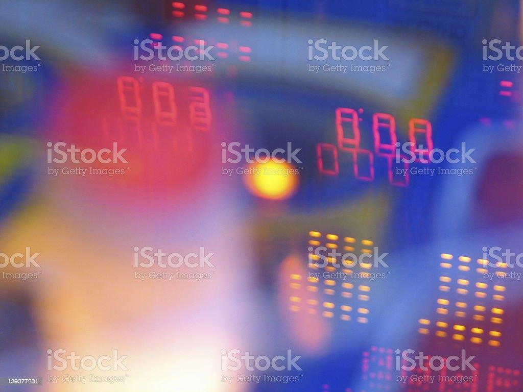 Abstract Pinball royalty-free stock photo
