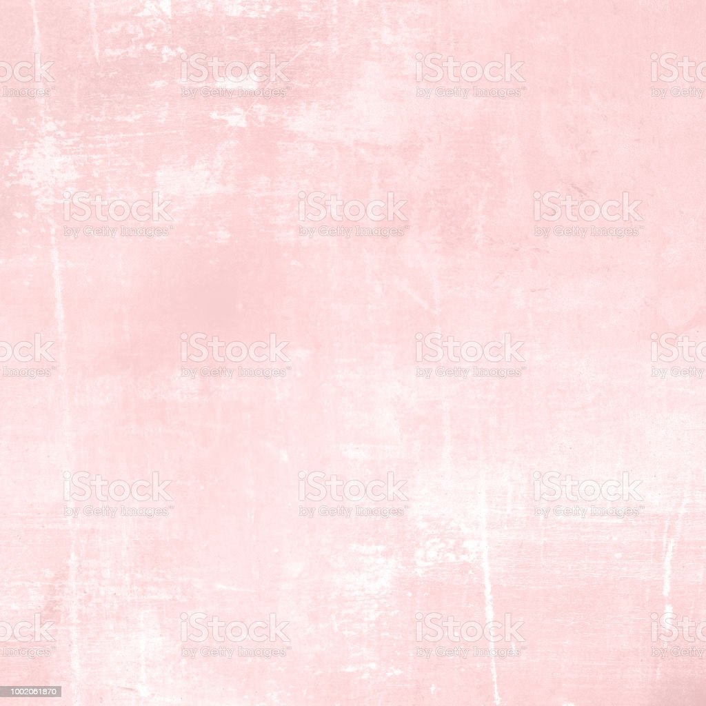 Abstract Pink Background In Light Watercolor Stock Photo