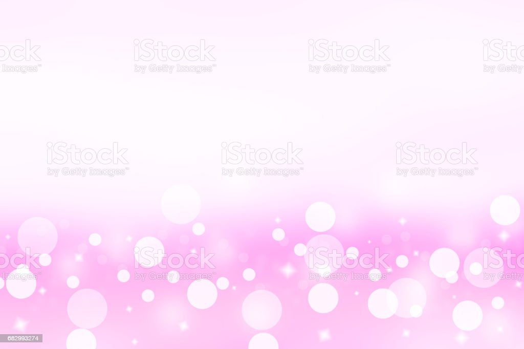 Abstract pink background. Pastel color tone background. With circle and star shape look like bokeh. foto de stock royalty-free