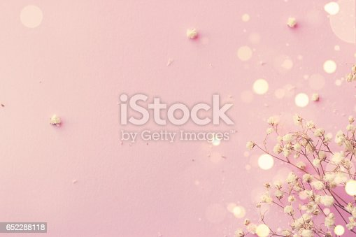 istock Abstract pink background 652288118