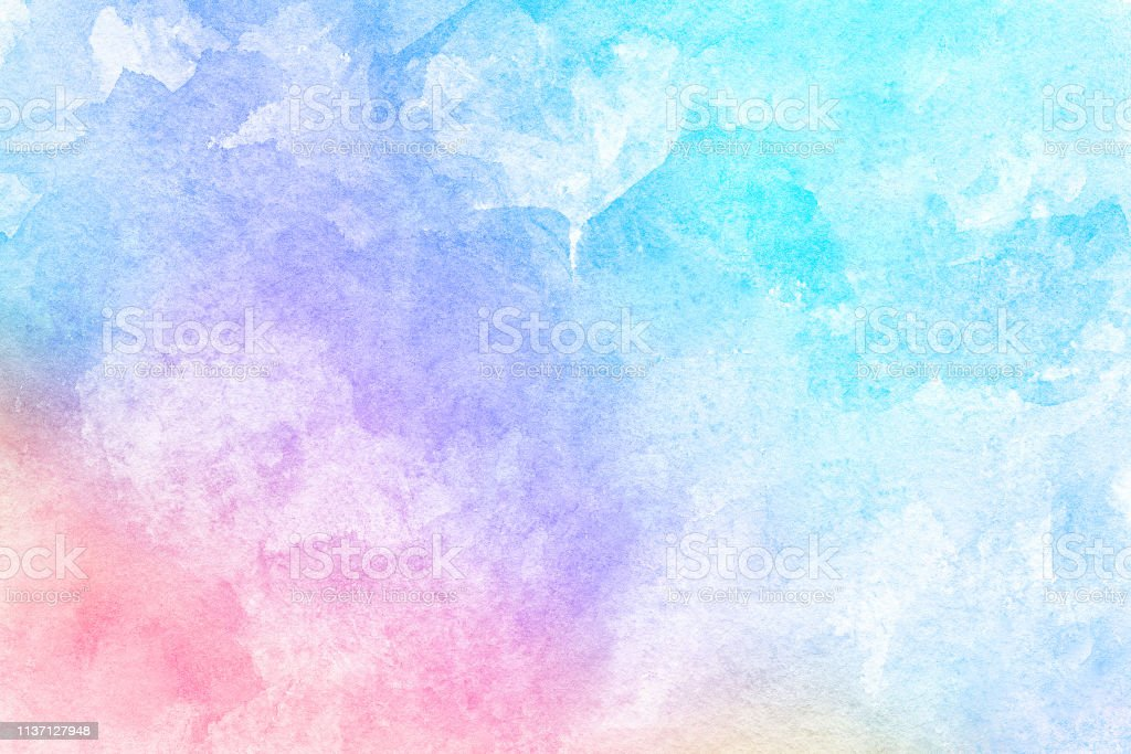Abstract Pink Blue Red Yellow Green Violet Orange Purple