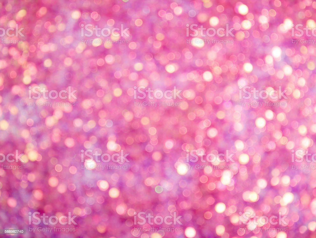 Abstract pink bokeh background stock photo