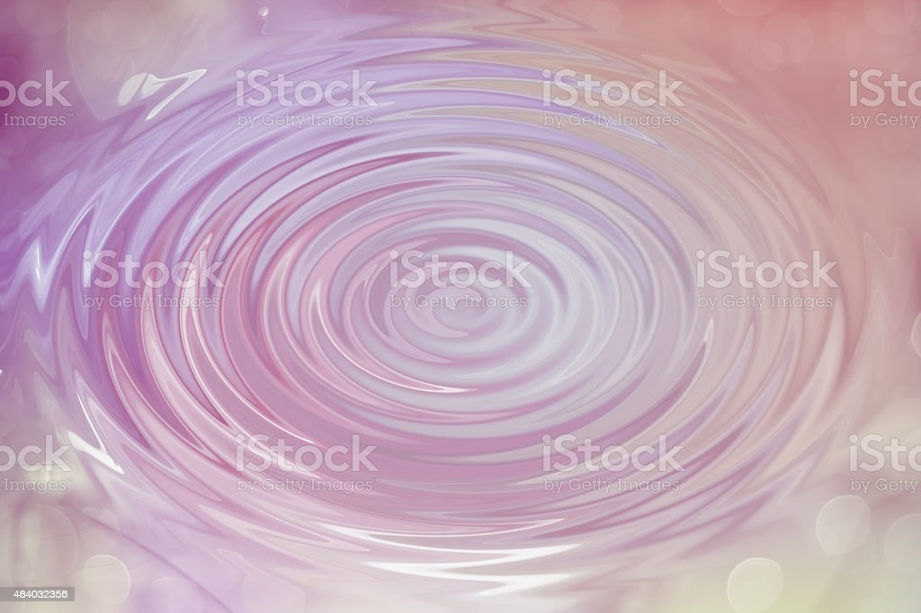 Abstract pink circle water drop ripple with wave, texture backgr stock photo