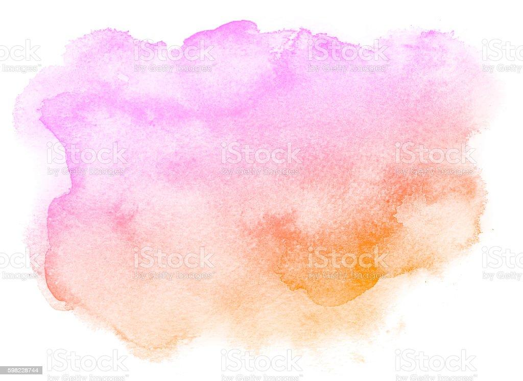 Fundo rosa abstrato aquarela. foto royalty-free