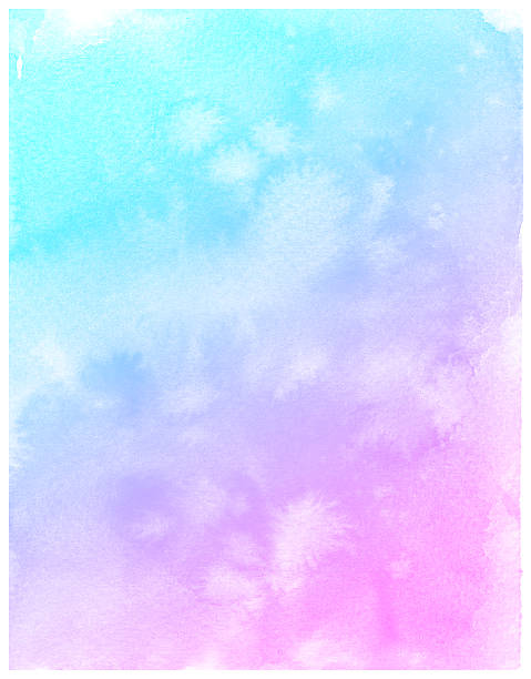 abstract pink watercolor background. - purple watercolor stock photos and pictures