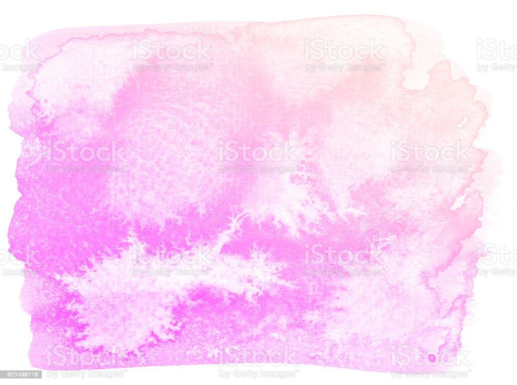 Fond abstrait aquarelle rose. photo libre de droits
