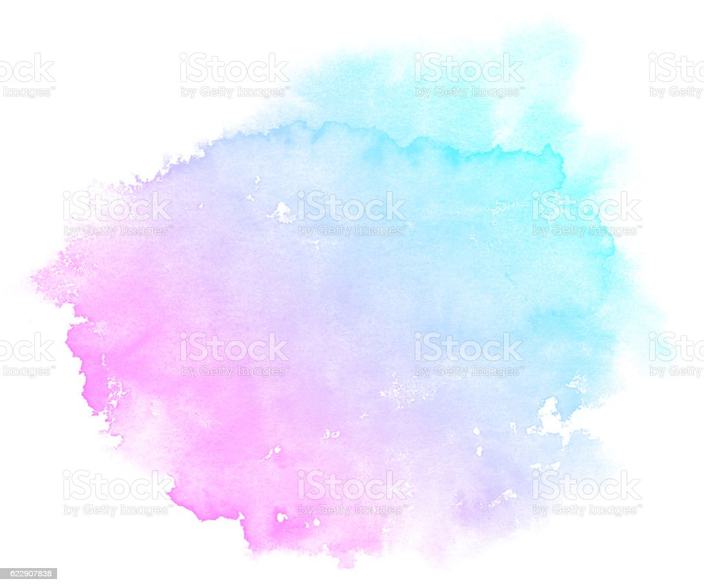 Abstract pink watercolor background. ⬇ Stock Photo, Image