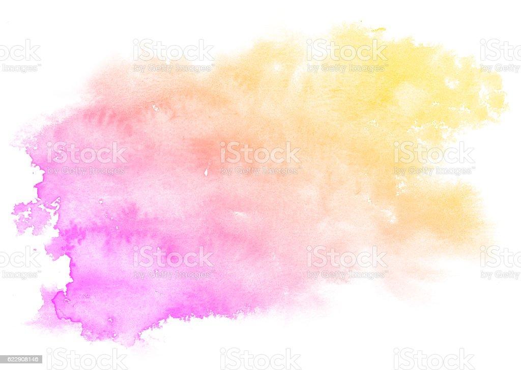 Abstract light pink splash watercolor texture - Download