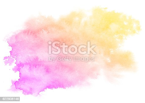 istock Abstract pink watercolor background. 622908146