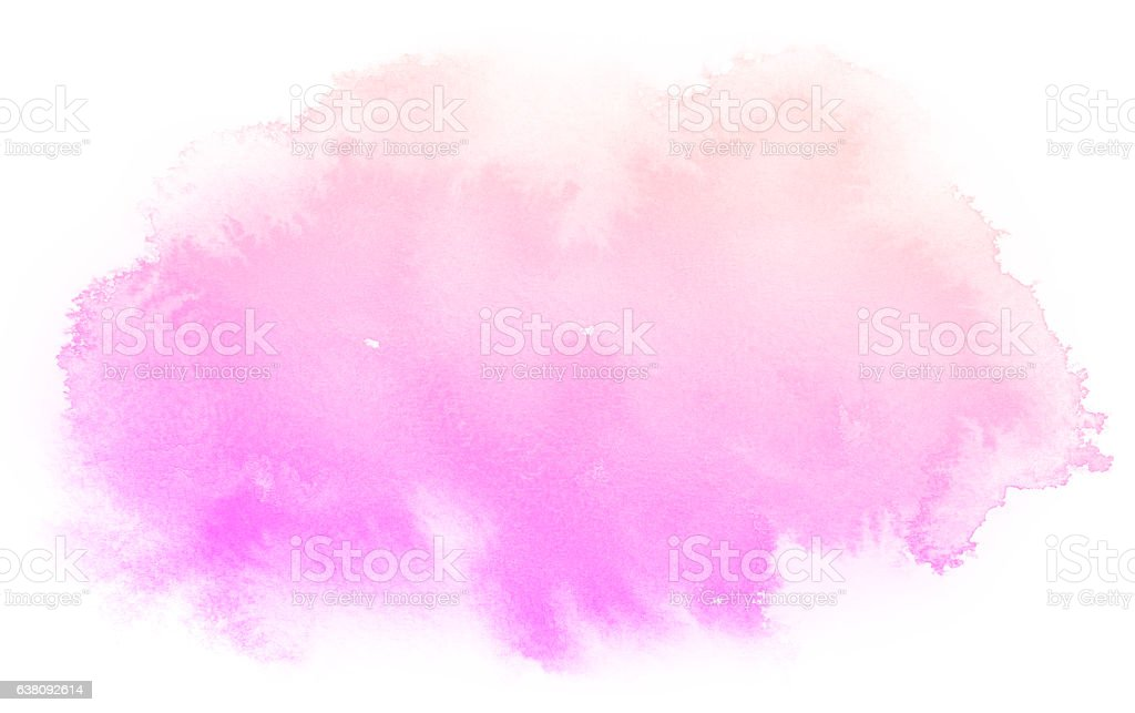 Fond abstrait aquarelle rose. - Photo