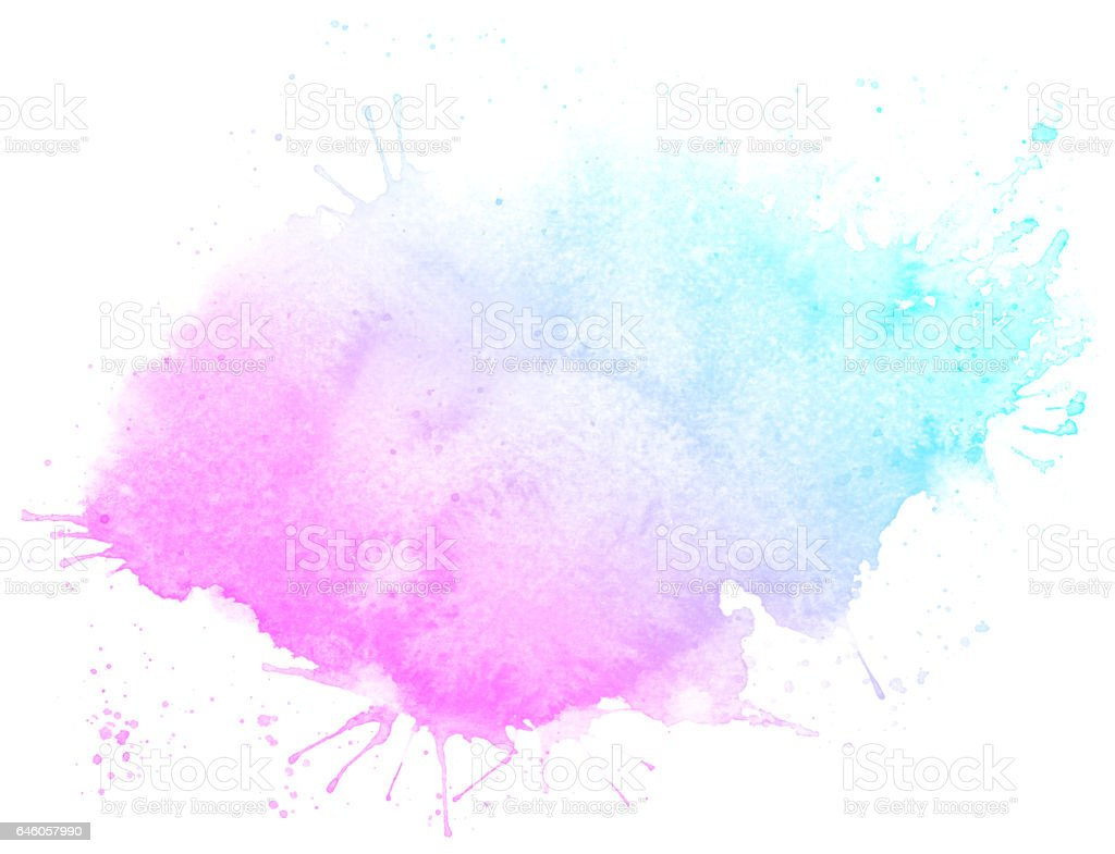 Abstract watercolor pink background — Stock Photo © Ann