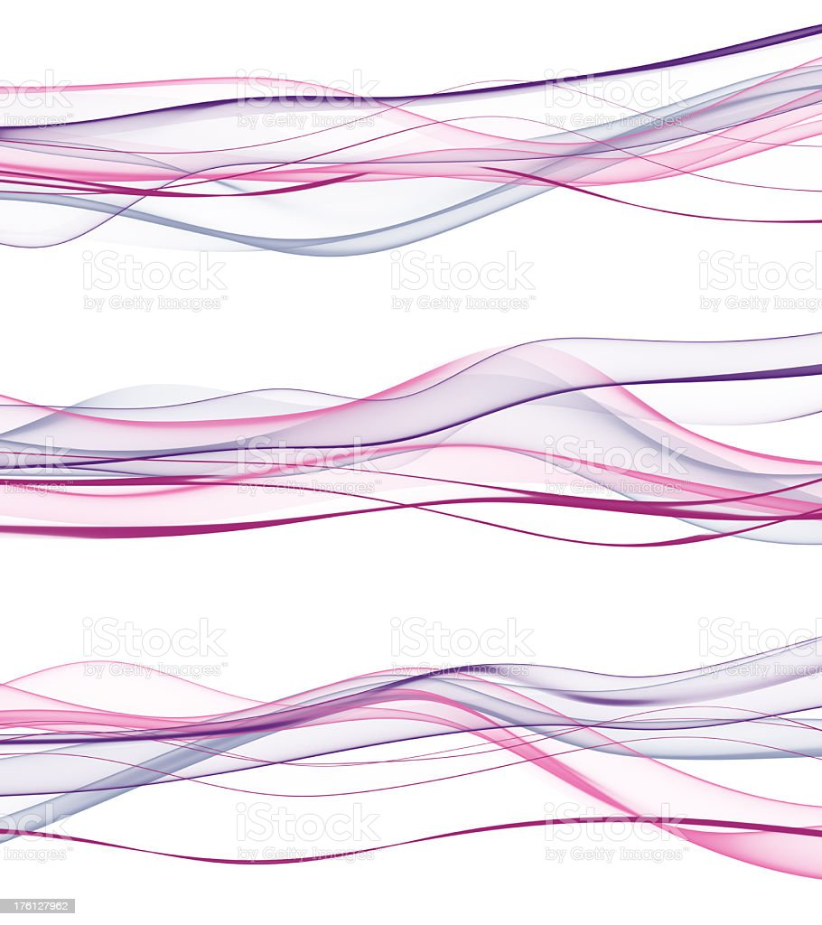 abstract pink waves royalty-free stock photo