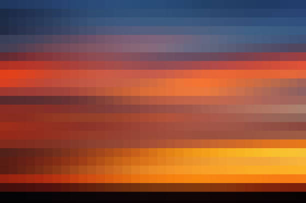 abstract pixelated background - pixellated stock photos and pictures