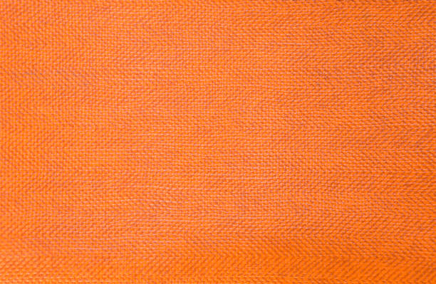 Texture orange en plastique abstraite - Photo