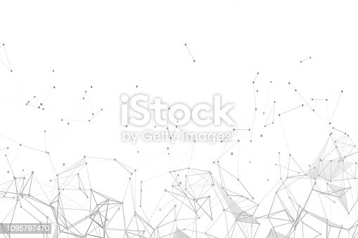 istock Abstract plexus network connection systems 1095797470