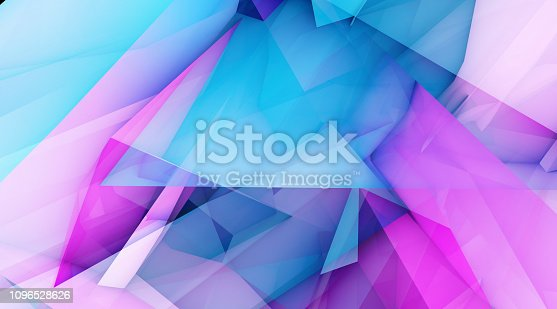 istock Abstract Polygon Background 1096528626