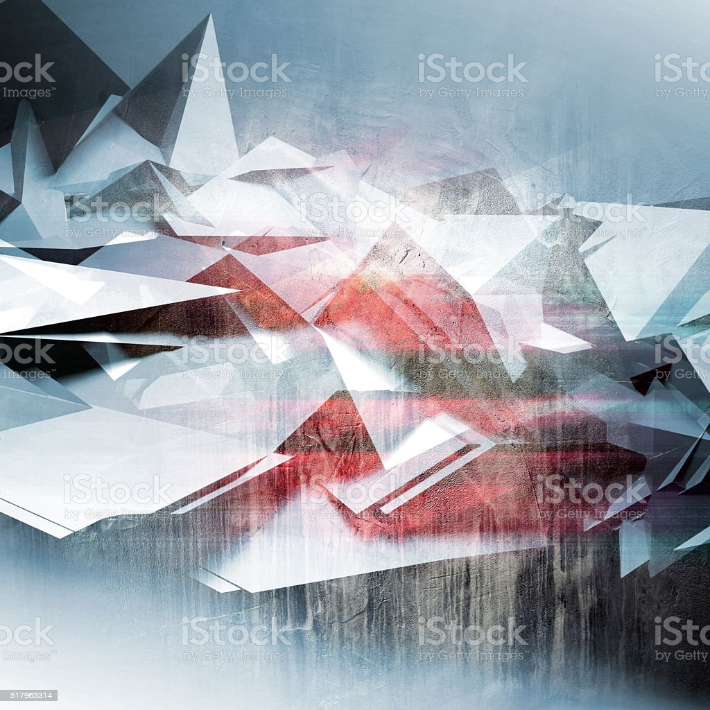 Abstract polygonal background, colorful pattern stock photo