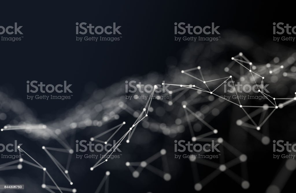 Fundo abstrato polygonal foto de stock royalty-free