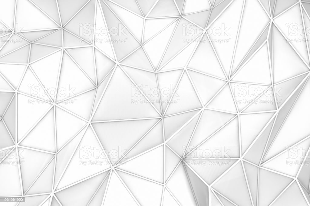 3D Abstract Polygonal Background - Royalty-free Abstract Stock Photo