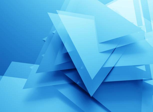 abstracte veelhoekige blauwe achtergrond - veelvlakkig stockfoto's en -beelden