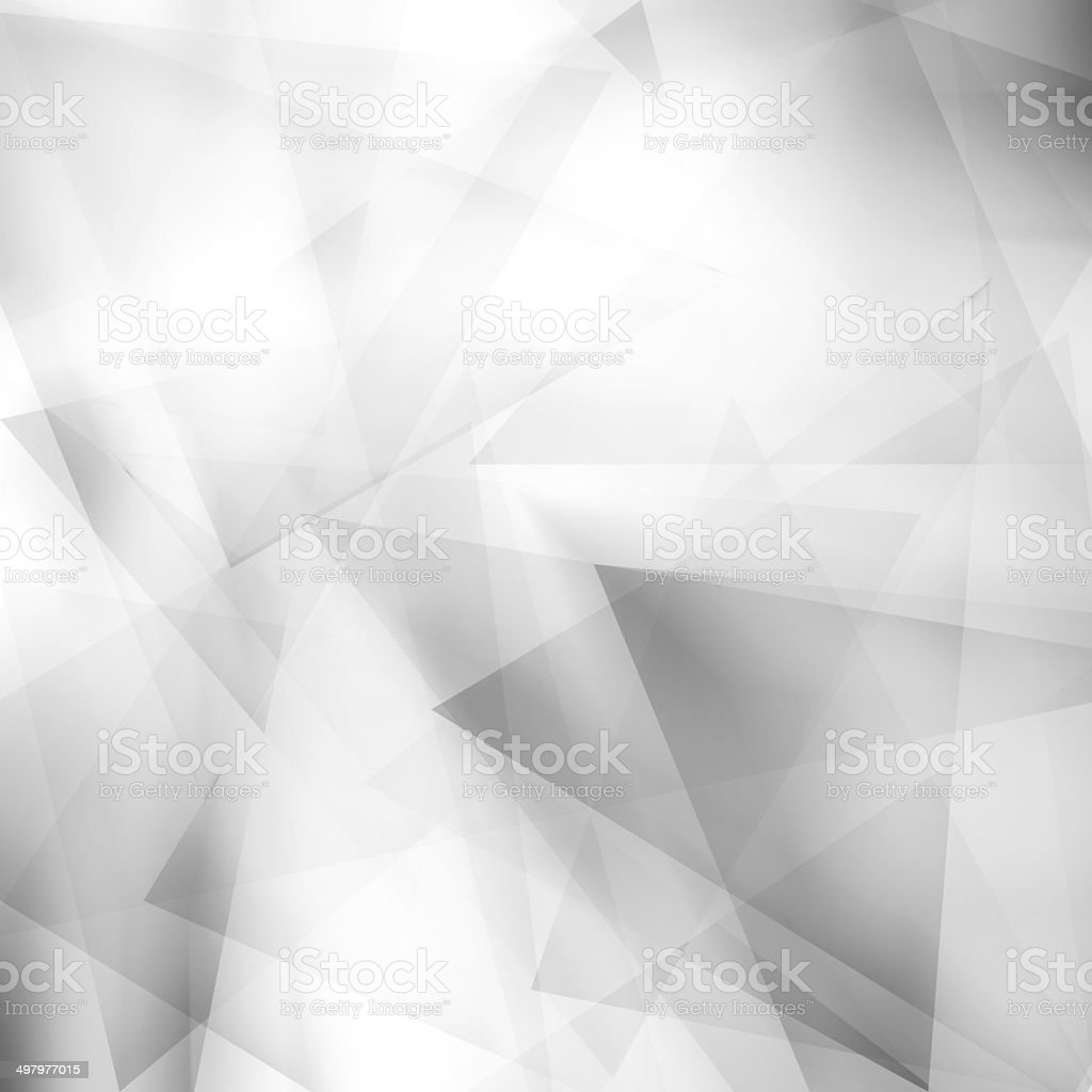 Abstract polygonal soft gray background stock photo