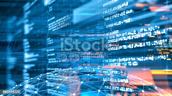 istock Abstract program code 880444220