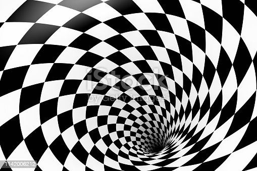 Optical Illusion, Circle, Pattern, Shape, Outer Space, Swirl, Striped, Spiral, Abstract, Background, Psychedelic, Checked Pattern