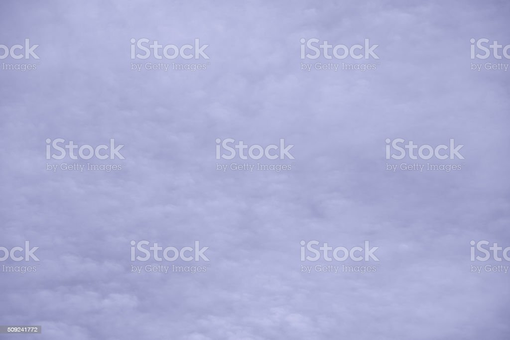 Abstract purple background composed of indistinct cloud shapes stock photo