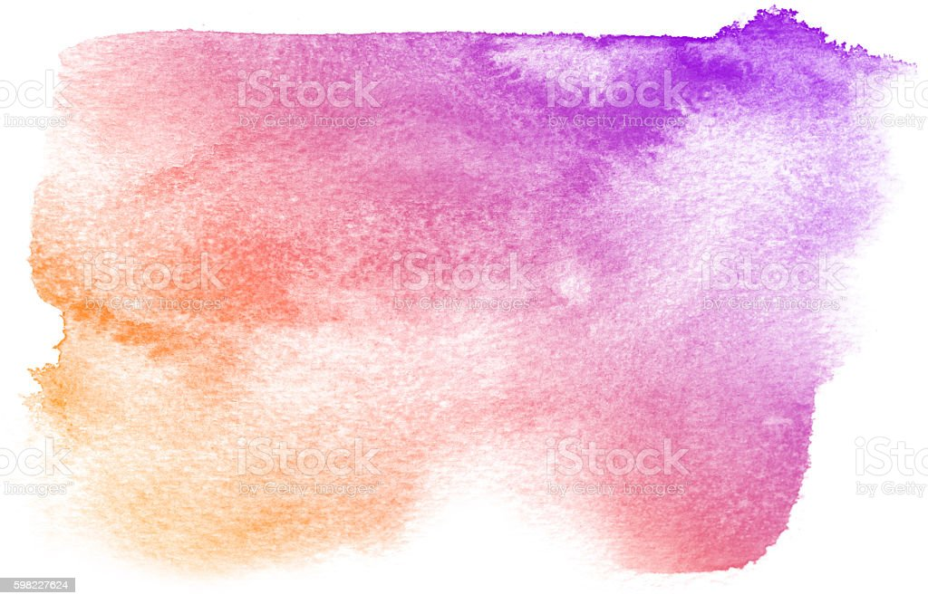 Abstrato aquarela Fundo roxo. foto royalty-free