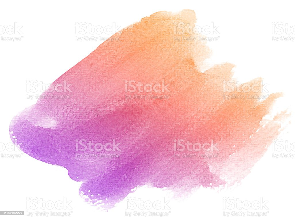 Abstract purple watercolor background. stock photo