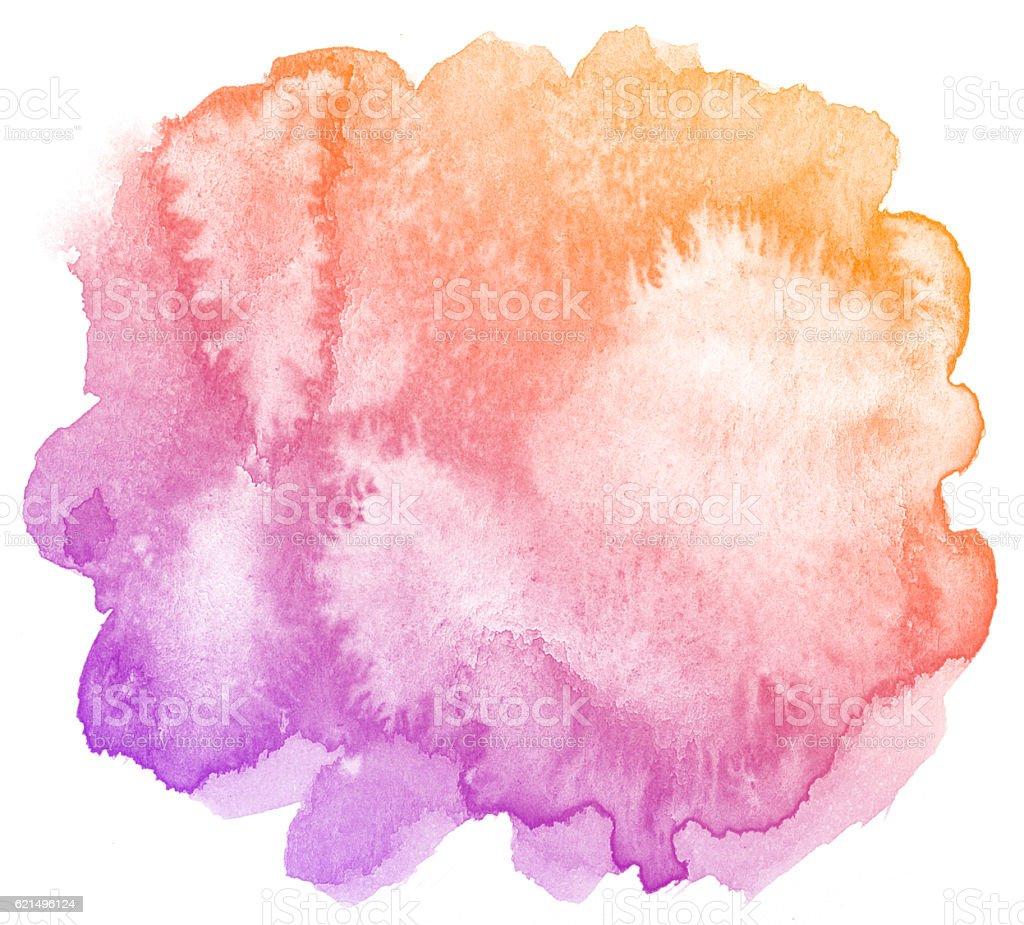 Abstrakt Lila Aquarell Hintergrund. Lizenzfreies stock-foto