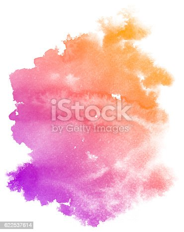 istock Abstract purple watercolor background. 622537614