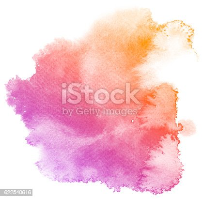 istock Abstract purple watercolor background. 622540616