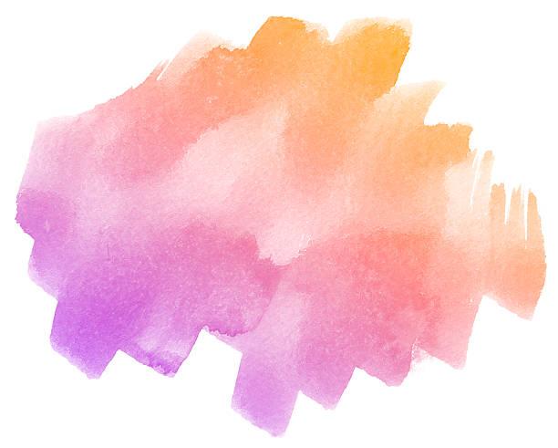abstrait violet fond aquarelle. - dessin au pastel photos et images de collection