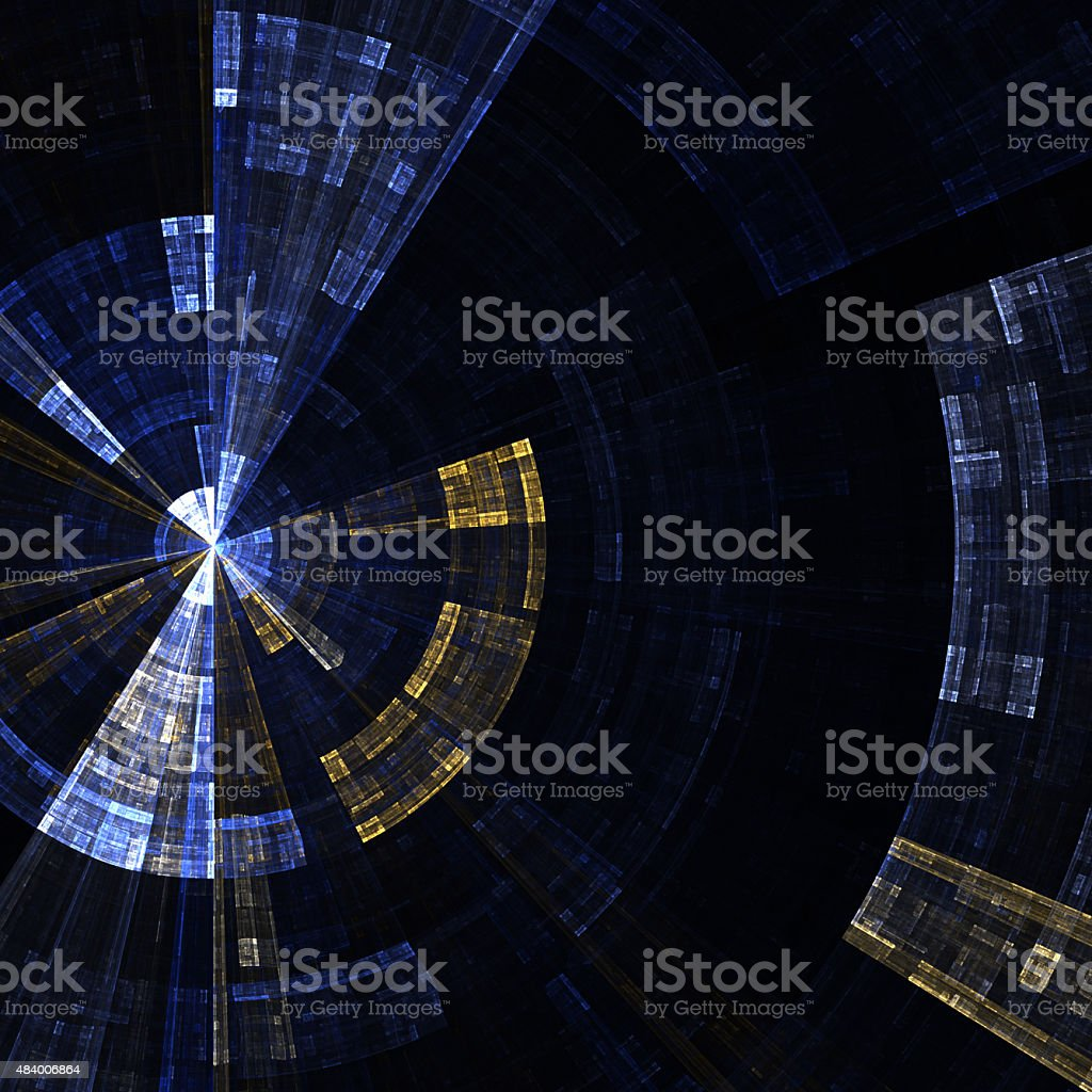 Abstract radial background stock photo