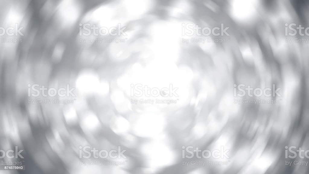 Abstract radial silver background. Digital illustration stock photo