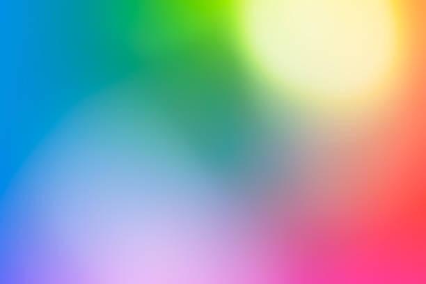 fundo abstrato arco-íris - colorful background - fotografias e filmes do acervo