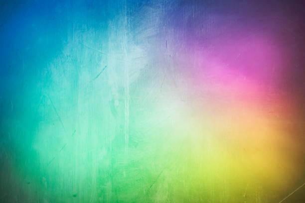abstrait arc-en-ciel arrière-plan de peinture de couleur - fond multicolore photos et images de collection