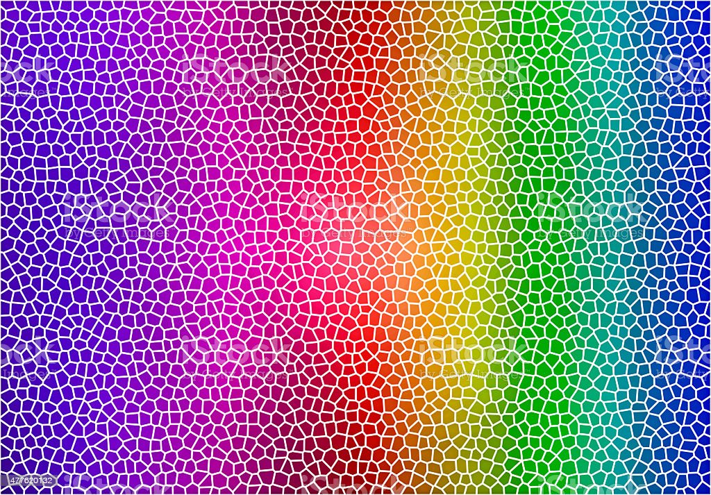Abstract rainbow colour background stock photo