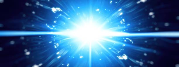 abstract rays - spark стоковые фото и изображения