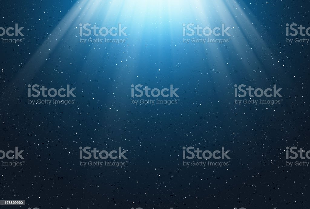 Abstract rays stock photo