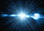 istock Abstract rays that illuminate the darkness 1284037220