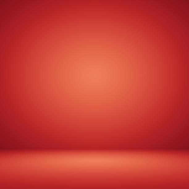 fondo rojo abstracto diseño web diseño plantilla con suaves - sólido fotografías e imágenes de stock