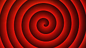 Abstract spiral Red background-Digitally generated image-Stock image