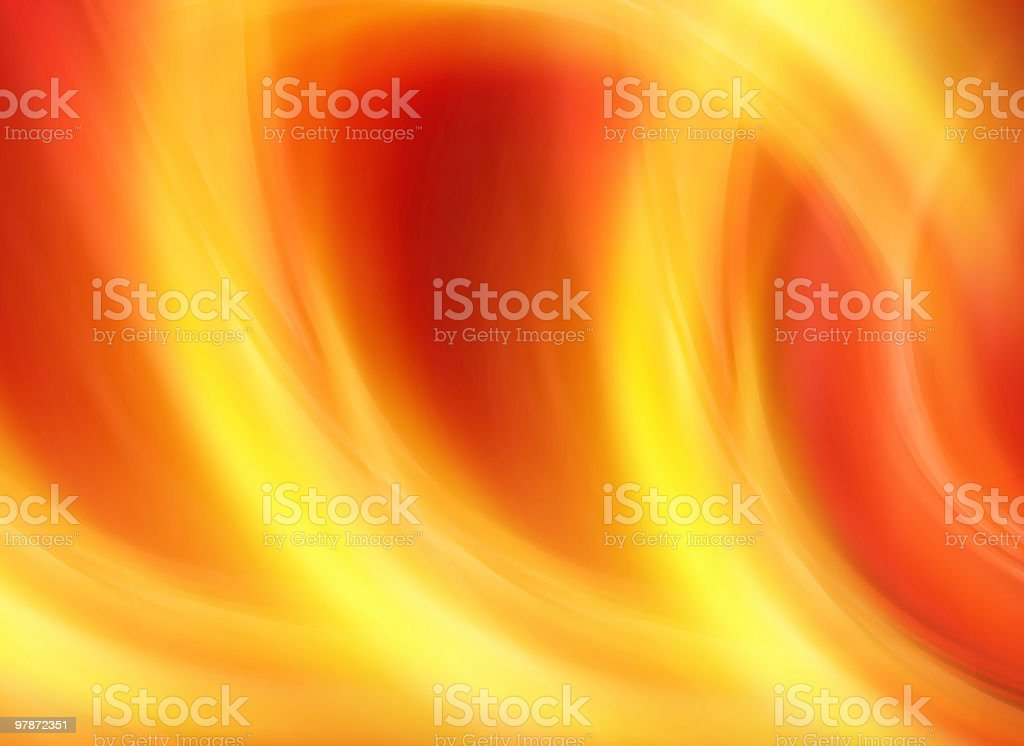Abstract Red Background-Yellow Texture royalty-free stock photo