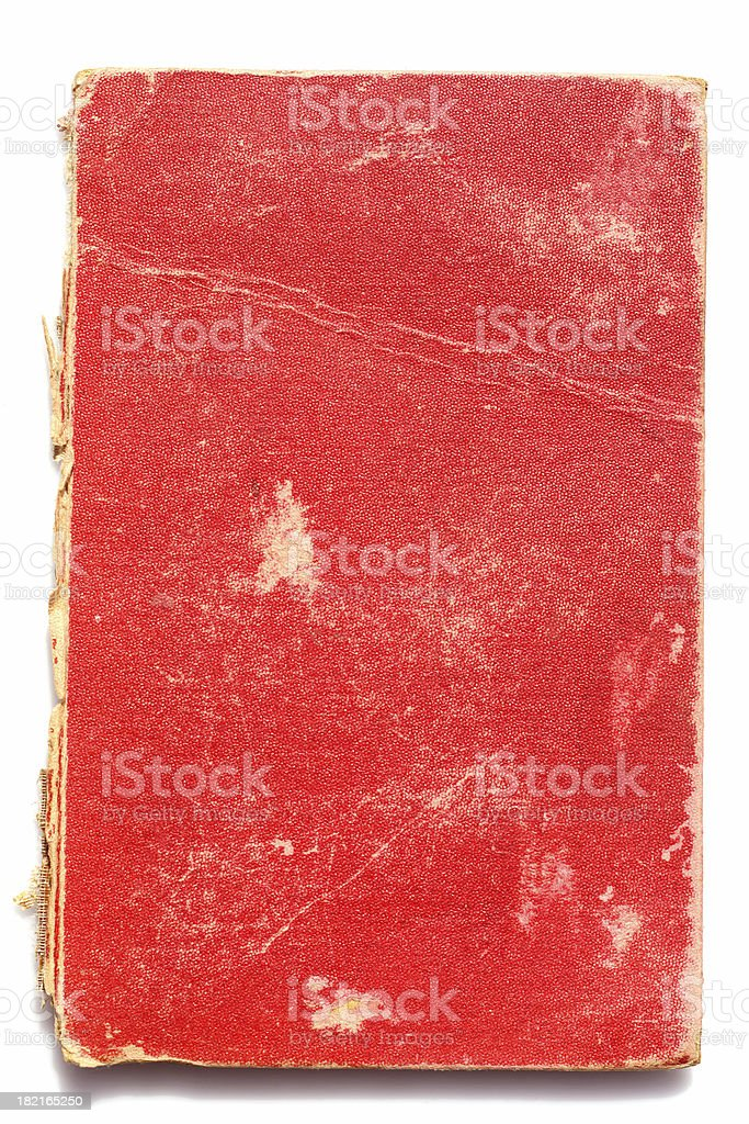 abstract red book cover royalty-free stock photo