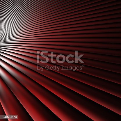 istock Abstract Red Dynamic Element 3D (Xlarge) 94379874