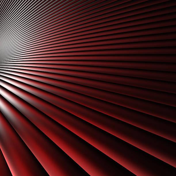 Abstract Red Dynamic Element 3D (Xlarge) stock photo