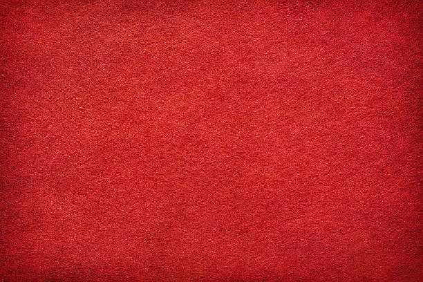 abstract red felt background - velvet stock pictures, royalty-free photos & images