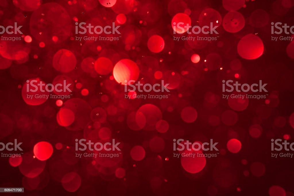 Abstrait fond rouge de Noël paillettes Love Party dynamique - Photo